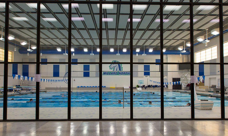Millard North High School swimming pool #1