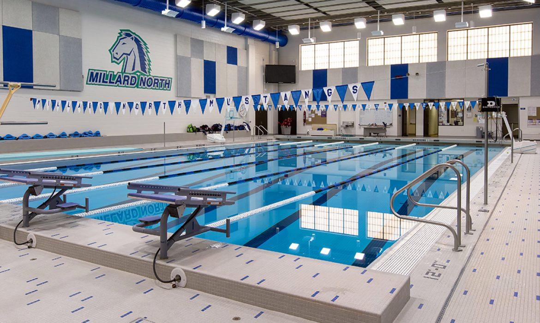 Millard North High School swimming pool #2