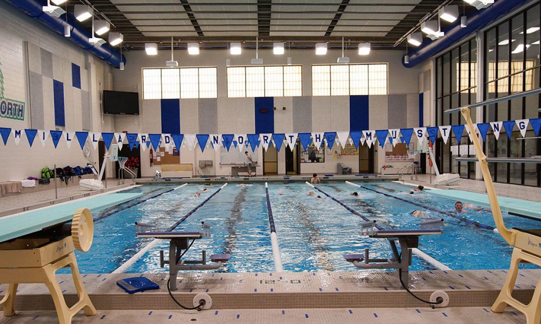 Millard North High School swimming pool #4