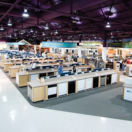 Nebraska Furniture Mart Appliance & Electronics Renovation